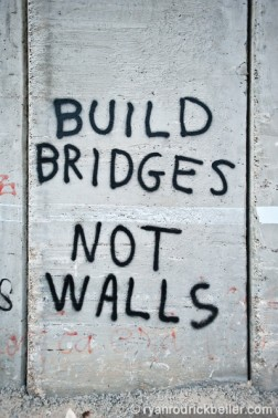 bridges-not-walls
