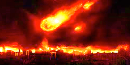 Image result for fire from heaven